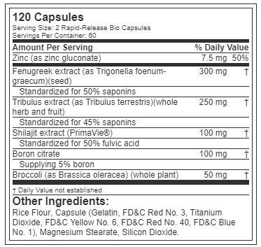 AlphaTest ingredients