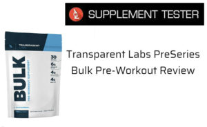 PreSeries Bulk Pre-Workout Review