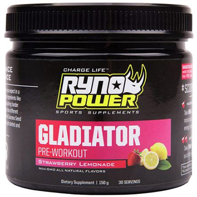 Gladiator Pre-Workout Review