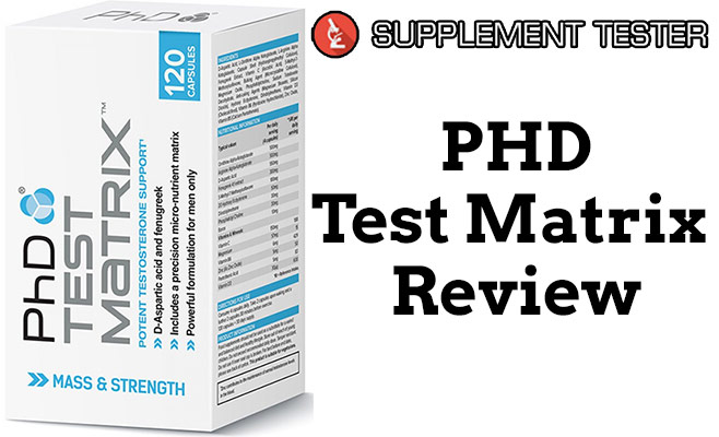 PHD Test Matrix Review