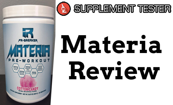 Materia pre workout review