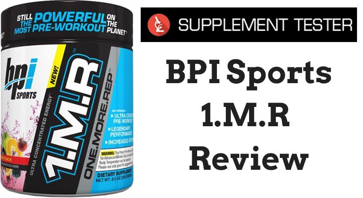 BPI Sports 1.M.R Review