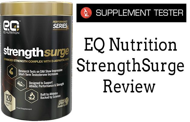 EQ Nutrition StrengthSurge Review