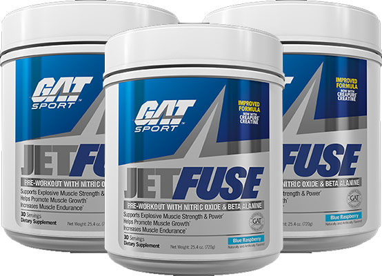 GAT Jetfuse ingredient list review side effects