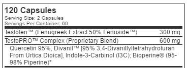 testopro-ingredient-list