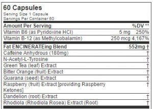 eflow-nutrition-ingredient-list