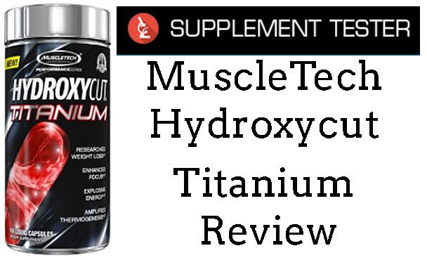 MuscleTech Hydroxycut Titanium Review