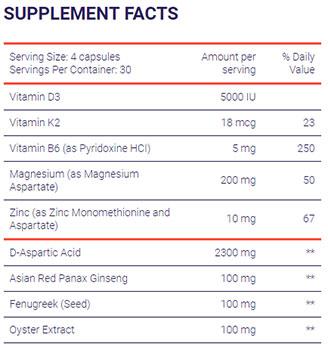 Prime-Male-vs-TestoFuel-TestoFuel-ingredient-list