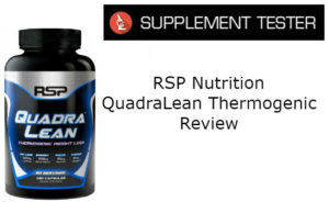 RSP QuadraLean Thermogenic Fat Burner Review