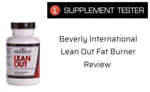 Beverley International Lean Out Fat Burner
