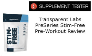 PreSeries Stim-Free Pre-Workout Review