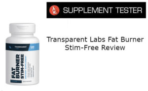 Transparent Labs Fat Burner Stim-Free Review