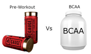 Pre-Workout Vs BCAA