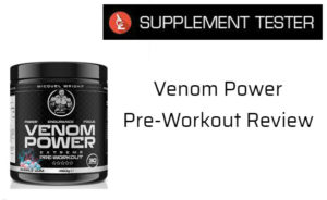 Venom Power Pre-Workout Review